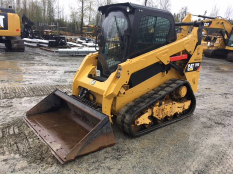 CATERPILLAR DELTALADER 259 D equipment  photo 4