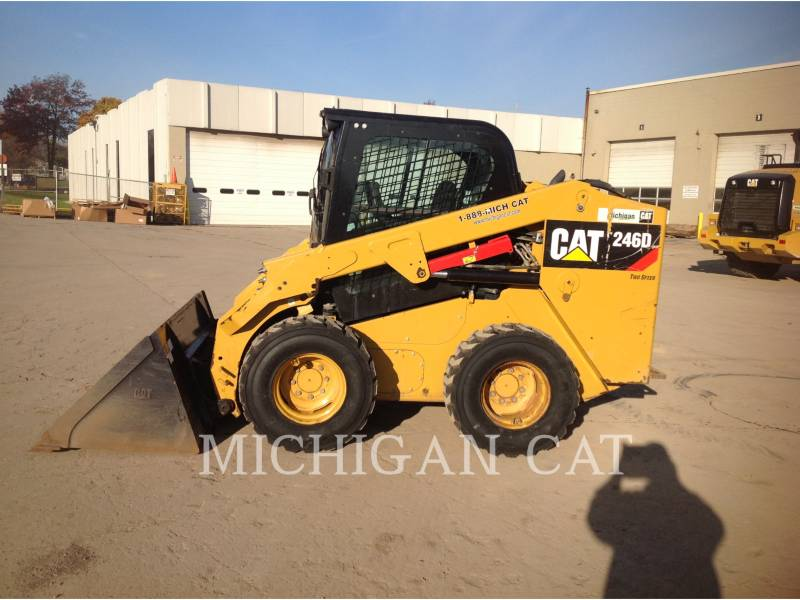 CATERPILLAR MINICARGADORAS 246D C2Q equipment  photo 7