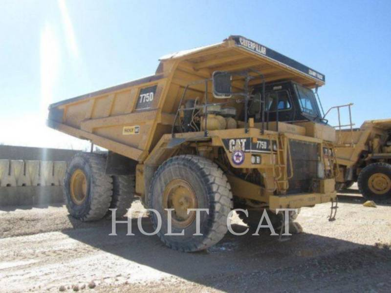 CATERPILLAR OFF HIGHWAY TRUCKS 775D equipment  photo 2