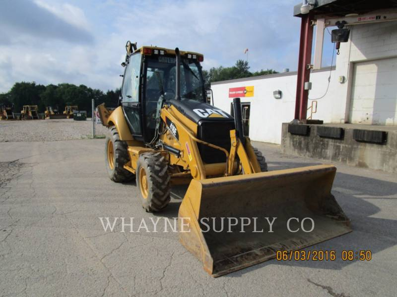 CATERPILLAR BAGGERLADER 416E CAB equipment  photo 1