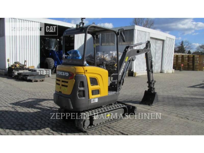 VOLVO CONSTRUCTION EQUIPMENT TRACK EXCAVATORS EC20 equipment  photo 3