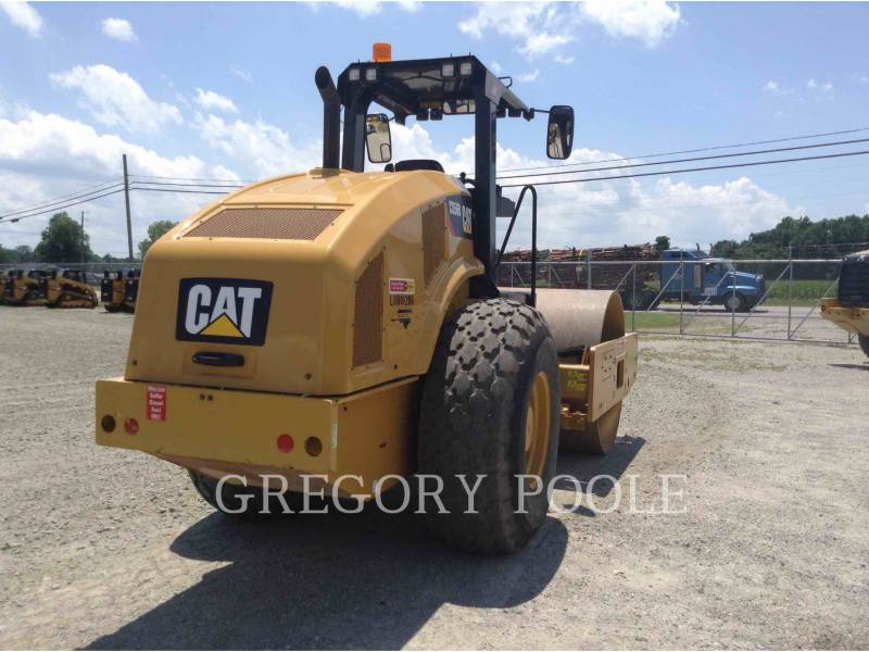 CATERPILLAR VIBRATORY SINGLE DRUM SMOOTH CS-56B equipment  photo 4