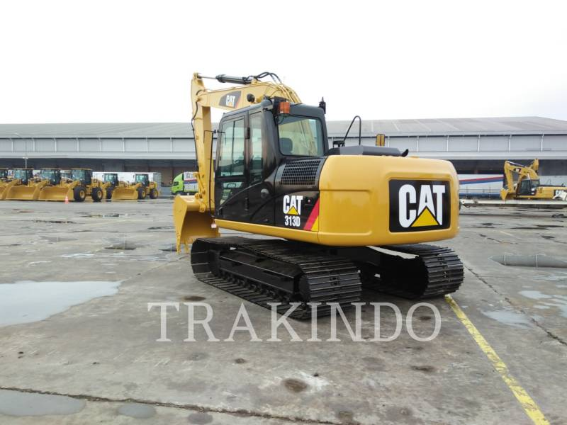 CATERPILLAR KETTEN-HYDRAULIKBAGGER 313D equipment  photo 4