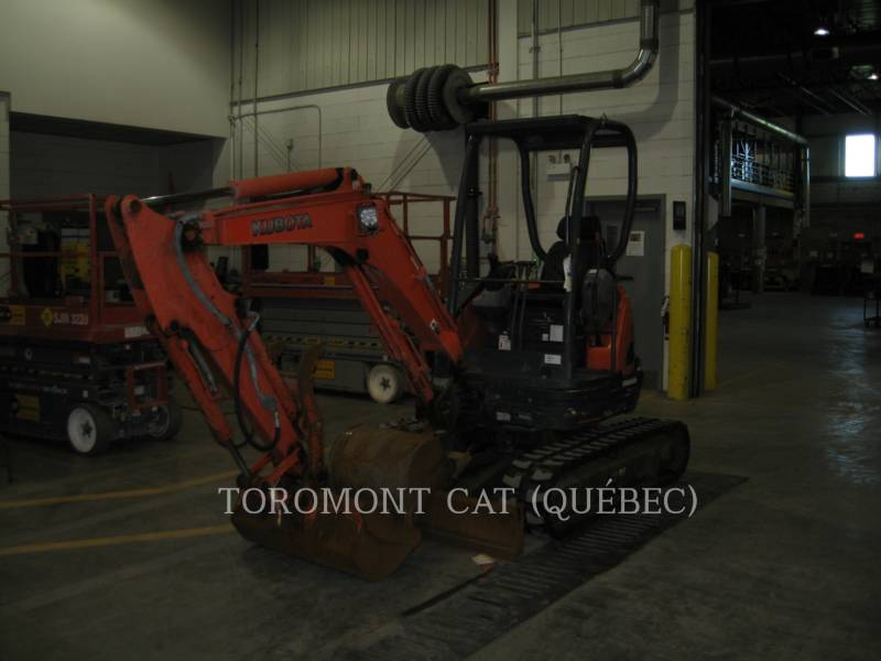 KUBOTA CANADA LTD. TRACK EXCAVATORS U25 equipment  photo 2
