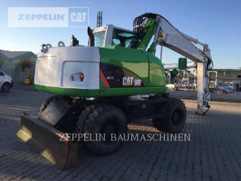 CATERPILLAR PELLES SUR PNEUS M313D equipment  photo 3