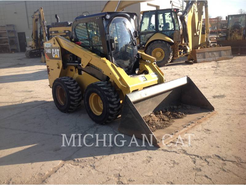 CATERPILLAR MINICARGADORAS 246D C2Q equipment  photo 2