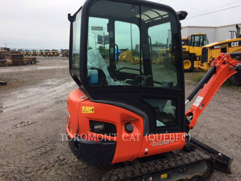 KUBOTA CORPORATION トラック油圧ショベル KX018-4 equipment  photo 4