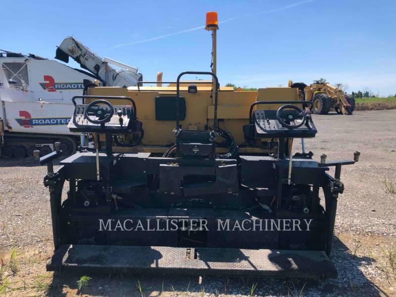 WEILER ASPHALT PAVERS P385 equipment  photo 6