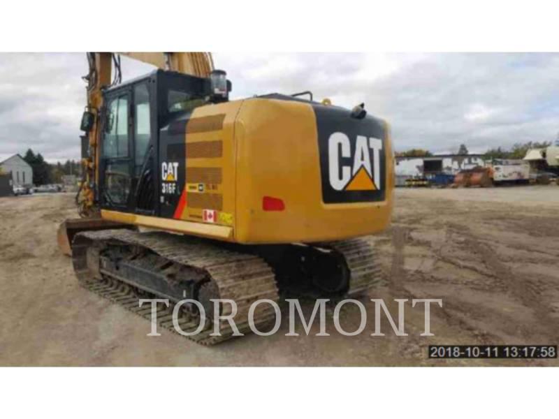 CATERPILLAR 履带式挖掘机 316FL equipment  photo 4
