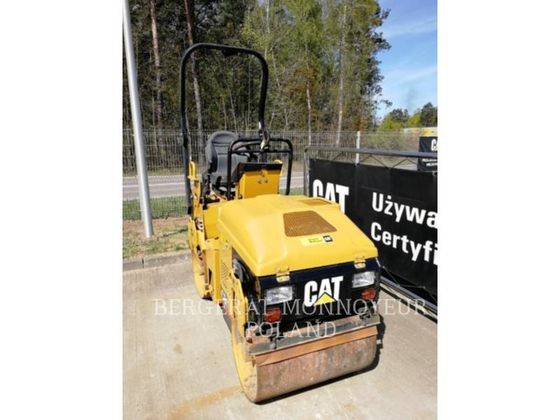 CATERPILLAR VIBRATORY DOUBLE DRUM ASPHALT CB-114 equipment  photo 5