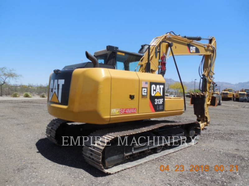 CATERPILLAR TRACK EXCAVATORS 313FLGC equipment  photo 2