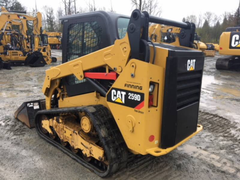 CATERPILLAR DELTALADER 259 D equipment  photo 3