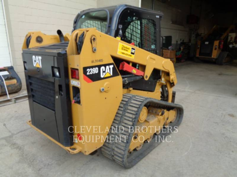 CATERPILLAR CARREGADEIRAS TODO TERRENO 239D equipment  photo 3