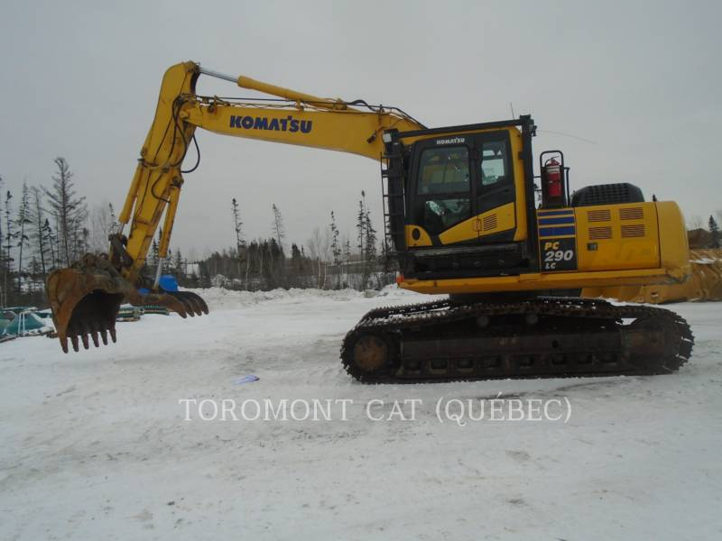 KOMATSU PELLES SUR CHAINES PC290LC equipment  photo 1