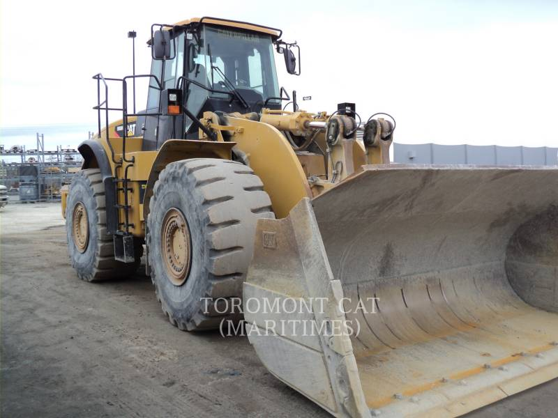 CATERPILLAR WHEEL LOADERS/INTEGRATED TOOLCARRIERS 980 H equipment  photo 1