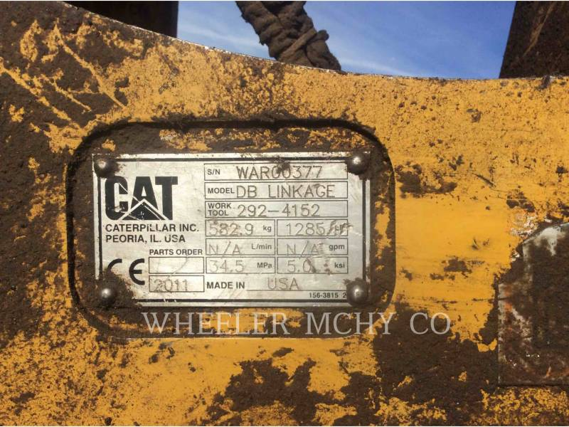 CATERPILLAR EXCAVADORAS DE CADENAS 336E L CFM equipment  photo 22