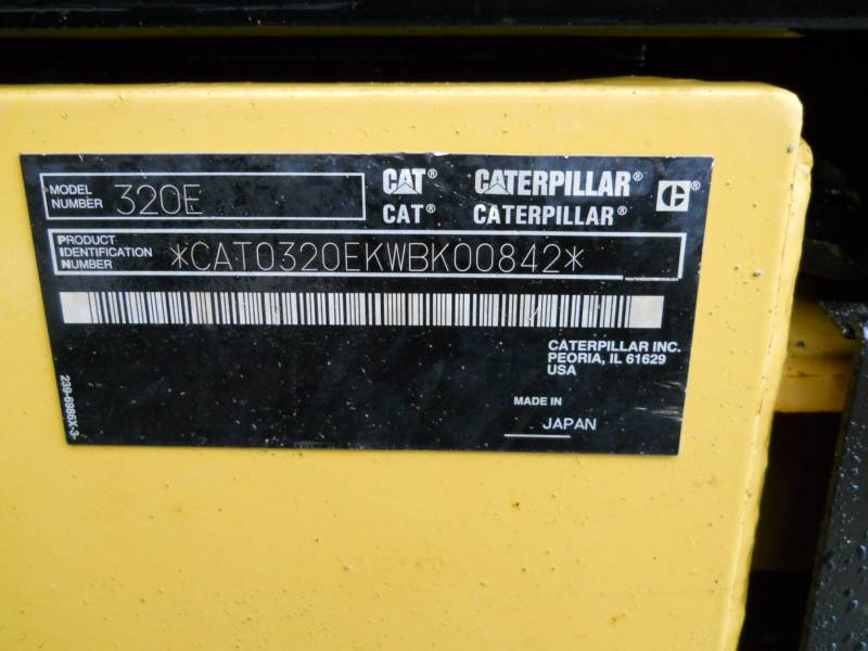 CATERPILLAR EXCAVADORAS DE CADENAS 320EL equipment  photo 24