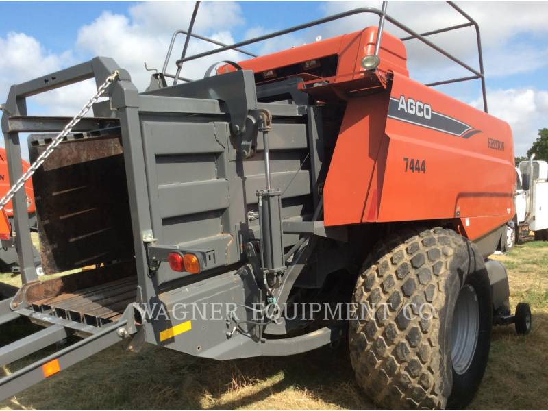 HESSTON CORP MATERIELS AGRICOLES POUR LE FOIN 7444 equipment  photo 5