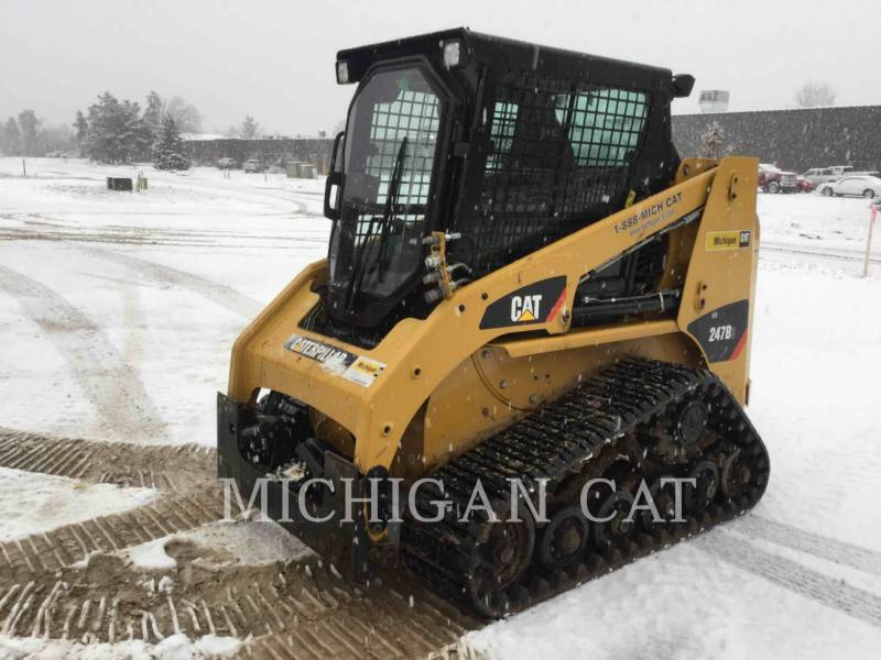 CATERPILLAR CHARGEURS TOUT TERRAIN 247B3 CQ equipment  photo 1