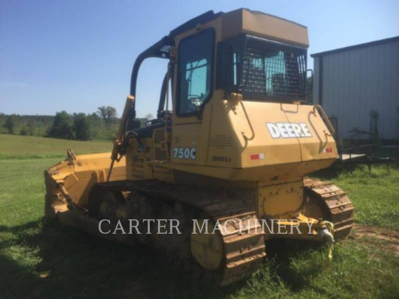 DEERE & CO. TRACK TYPE TRACTORS DER 750C equipment  photo 2