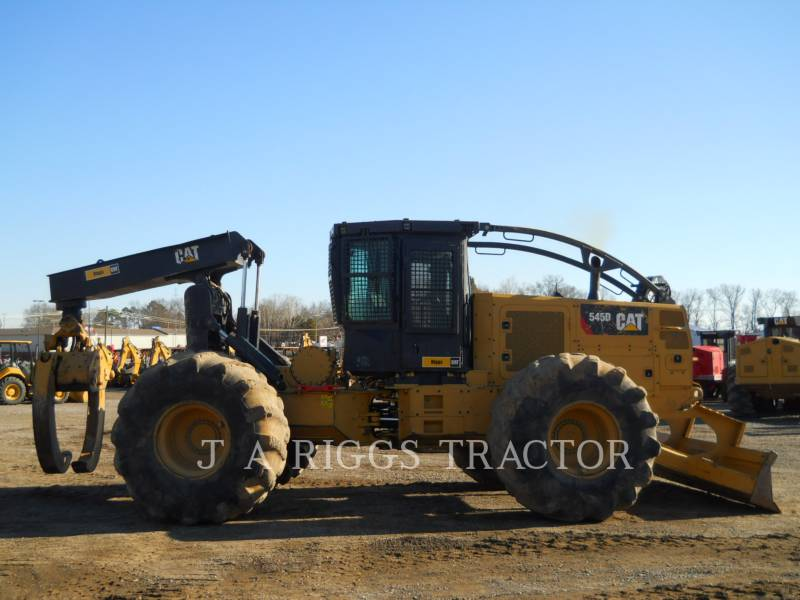 CATERPILLAR 林業 - スキッダ 545D DF equipment  photo 5