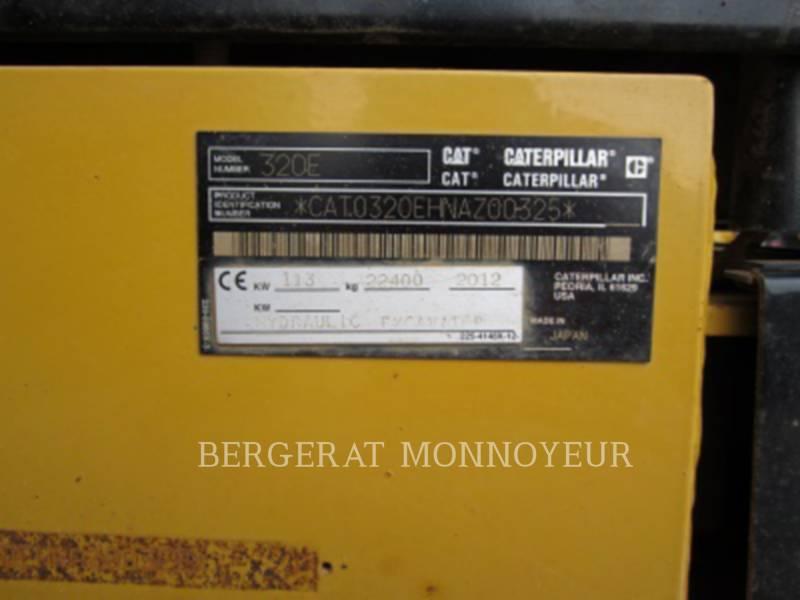 CATERPILLAR トラック油圧ショベル 320E equipment  photo 3