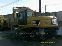 Caterpillar EXCAVATOARE PE ROŢI M318D equipment  photo 2