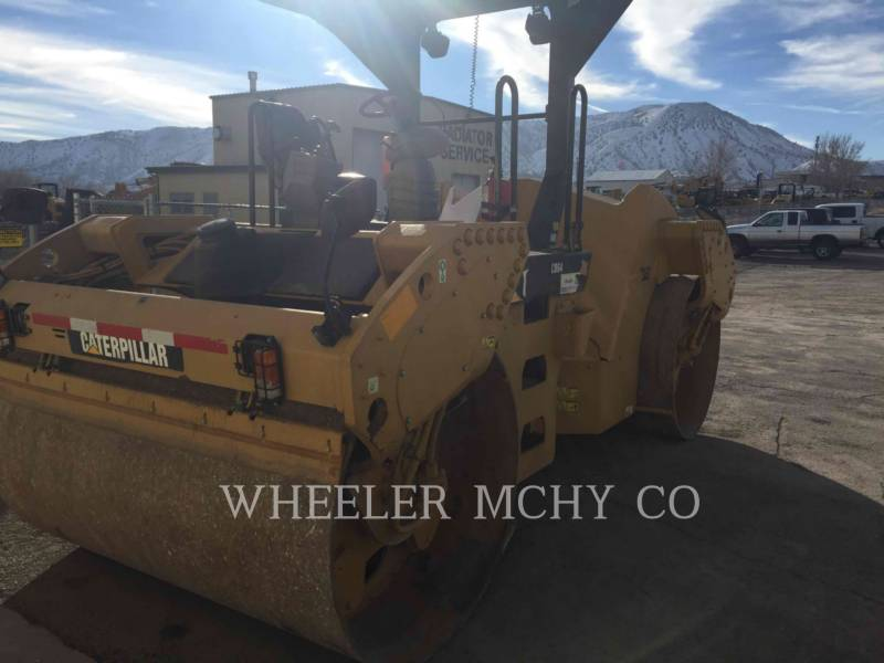 CATERPILLAR VIBRATORY DOUBLE DRUM ASPHALT CB64 VV equipment  photo 1
