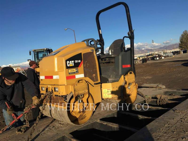CATERPILLAR TAMBOR DOBLE VIBRATORIO ASFALTO CB14B equipment  photo 1
