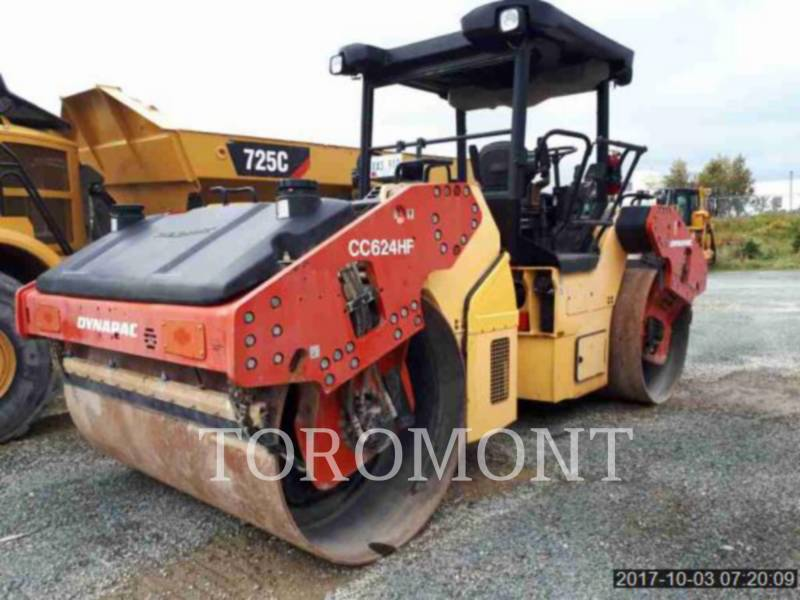 DYNAPAC COMPACTORS CC624HF equipment  photo 1