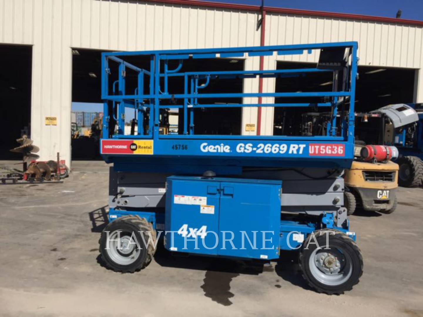 Detail photo of 2013 Genie GS2669 RT from Construction Equipment Guide