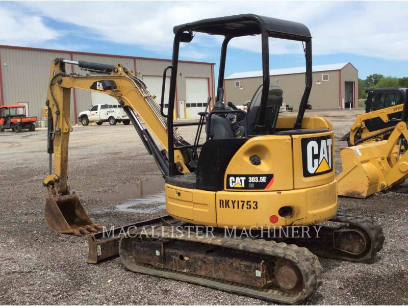 CATERPILLAR TRACK EXCAVATORS 303.5 E equipment  photo 3