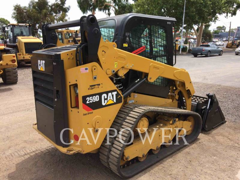 CATERPILLAR CHARGEURS TOUT TERRAIN 259D equipment  photo 3