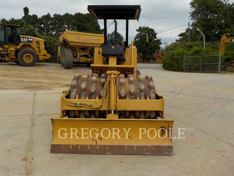 CATERPILLAR VIBRATORY SINGLE DRUM PAD CP-433C equipment  photo 7