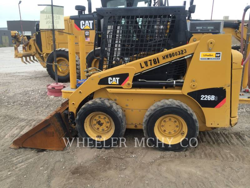 CATERPILLAR MINICARGADORAS 226B3 C1 equipment  photo 8