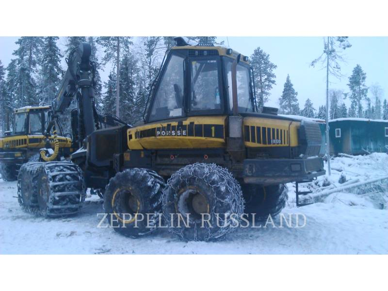 PONSSE FORSTWIRTSCHAFT - FORWARDER BUFFALO 8W equipment  photo 3