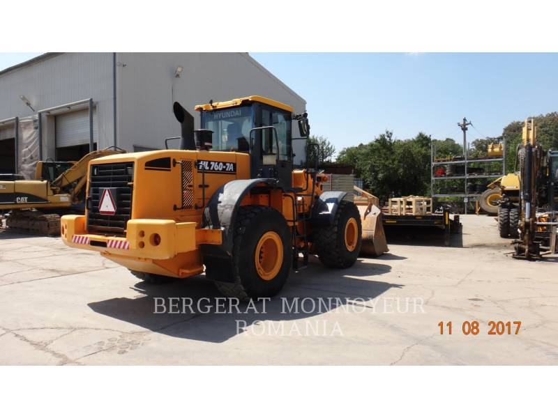 HYUNDAI CONSTRUCTION EQUIPMENT WHEEL LOADERS/INTEGRATED TOOLCARRIERS HL760-7A equipment  photo 5