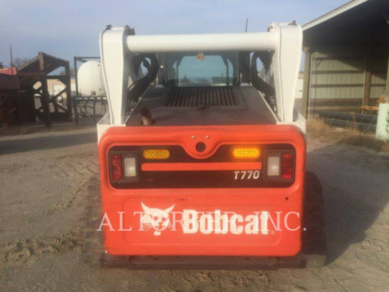 BOBCAT CHARGEURS COMPACTS RIGIDES T770 equipment  photo 2