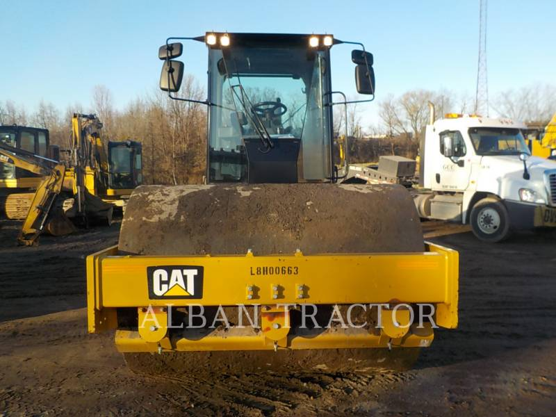 CATERPILLAR EINZELVIBRATIONSWALZE, GLATTBANDAGE CS56B equipment  photo 9