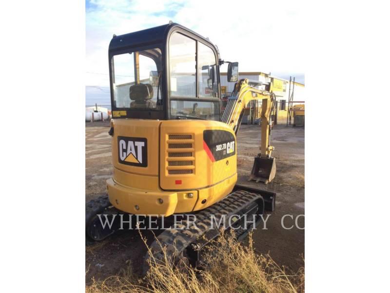 CATERPILLAR TRACK EXCAVATORS 302.7D C2 equipment  photo 3