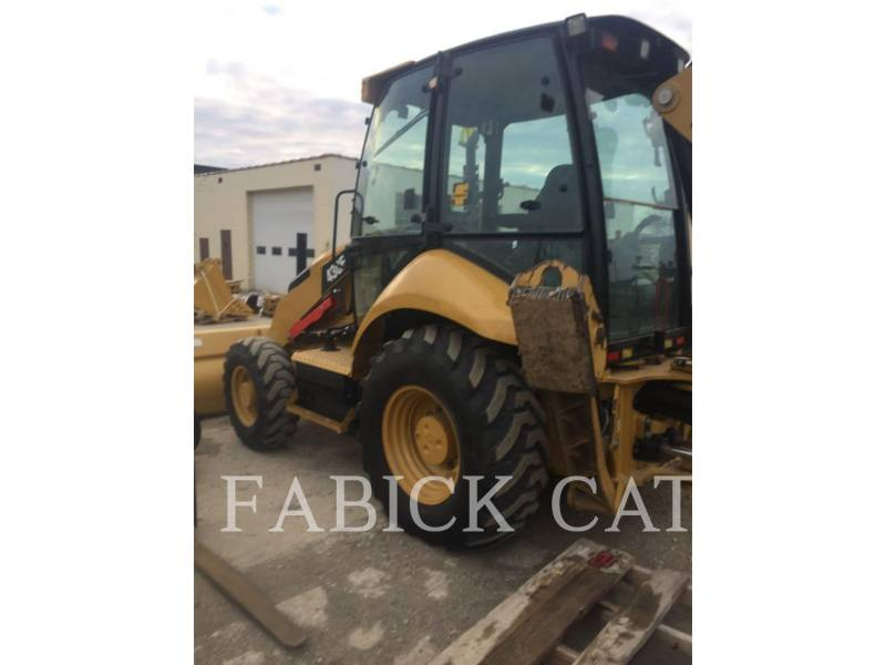 CATERPILLAR BAGGERLADER 430F HT equipment  photo 2