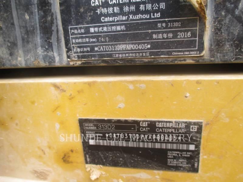 CATERPILLAR ESCAVATORI CINGOLATI 313D2GC equipment  photo 2