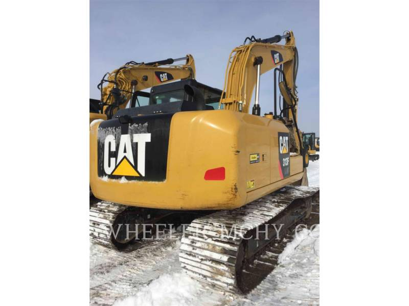 CATERPILLAR TRACK EXCAVATORS 313F GC TH equipment  photo 5