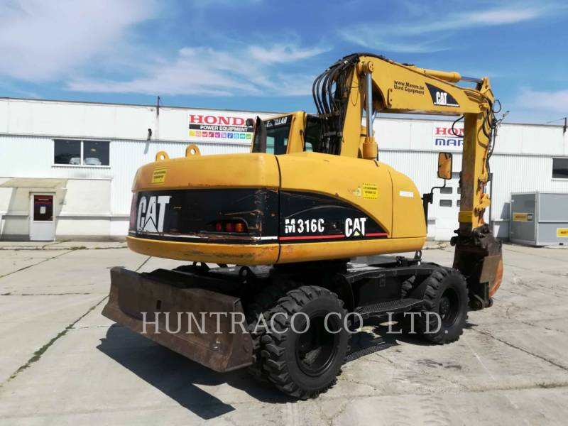 CATERPILLAR WHEEL EXCAVATORS M316C equipment  photo 3