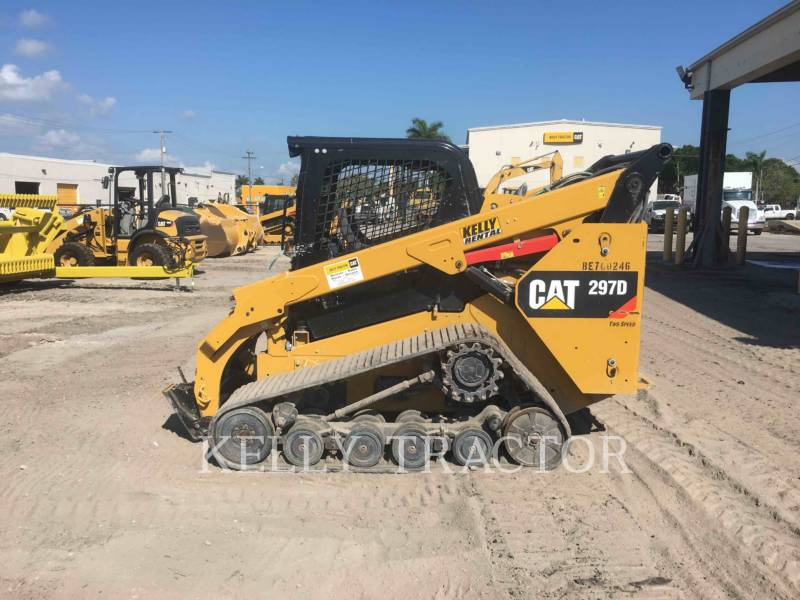 CATERPILLAR UNIWERSALNE ŁADOWARKI 297D equipment  photo 2