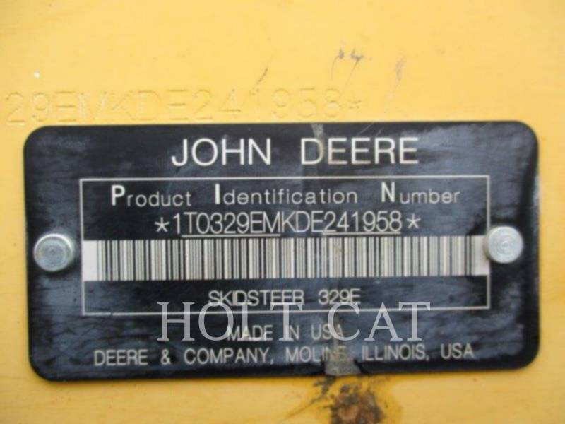 DEERE & CO. DELTALADER 329E equipment  photo 5