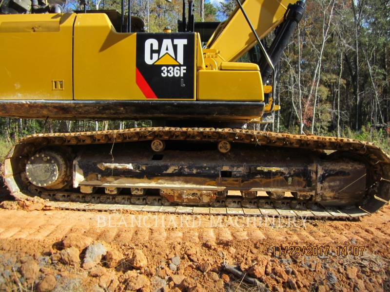 CATERPILLAR TRACK EXCAVATORS 336F equipment  photo 8