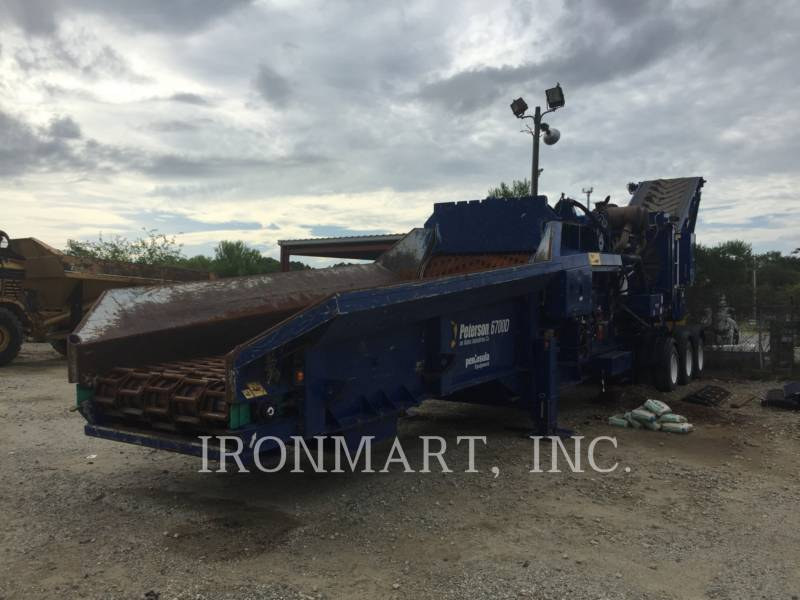 PETERSON CHIPPER, HORIZONTAL 6700D equipment  photo 2