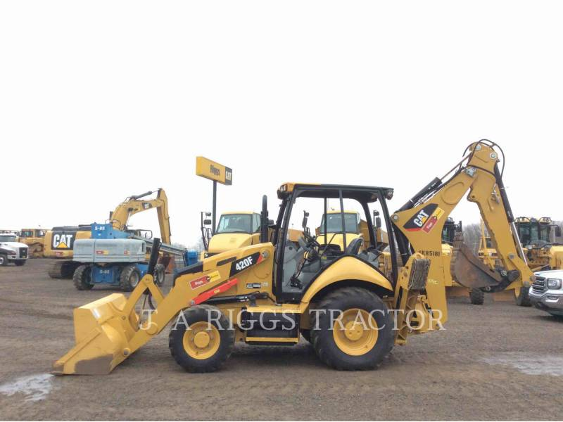 CATERPILLAR BACKHOE LOADERS 420F 4H equipment  photo 3