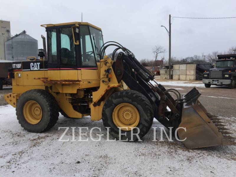 CATERPILLAR WHEEL LOADERS/INTEGRATED TOOLCARRIERS IT18F equipment  photo 1